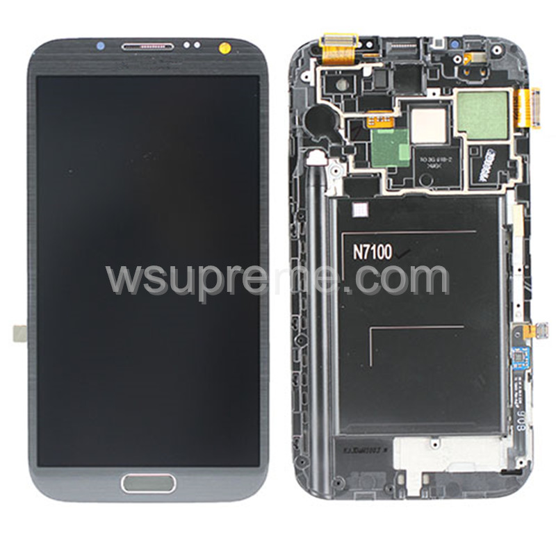 Samsung Galaxy Note 2 N7100 LCD Screen and Digitizer Assembly Replacement