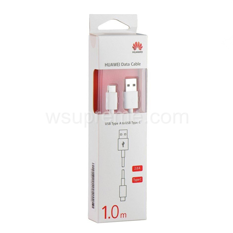 Huawei Lenth 1M White Data Wire Charging USB Cable