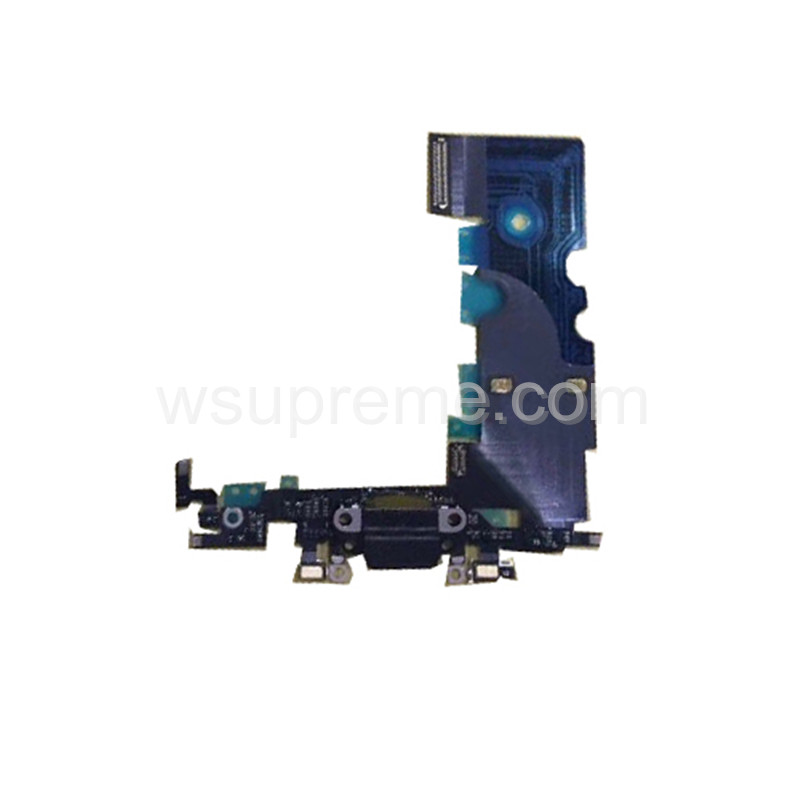 iPhone 8 Plus Charging Port Flex Cable Replacement - Black