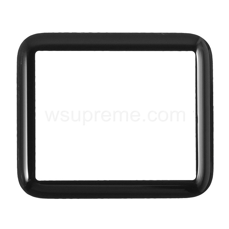 Apple Watch Serie 2nd Gen 42mm Glass Lens Replacement - Black
