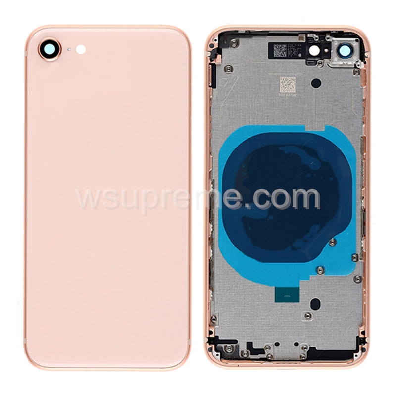 iPhone 8 Middle Frame and Battery Door With Small Parts Replacement