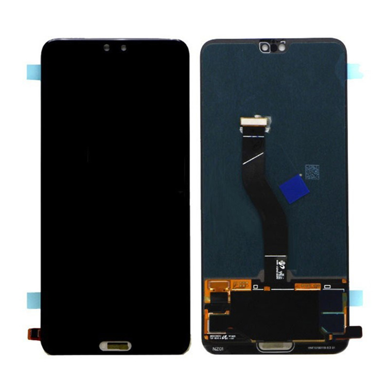 Huawei P20 Pro LCD Screen and Digitizer Assembly With Fingerprint Sensor Flex Ca